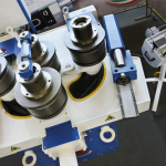 MG SRL Curvadoras perfiles 4 rodillos