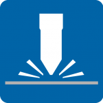 Lomusa. Icono Corte po láser y oxiplasma