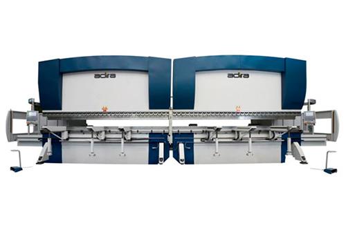 Plegadoras hidráulicas ADIRA Serie PH Heavy Duty