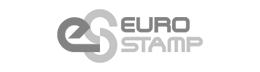 Logotipo EuroStamp. Utilaje para plegadoras.. Fabricante.