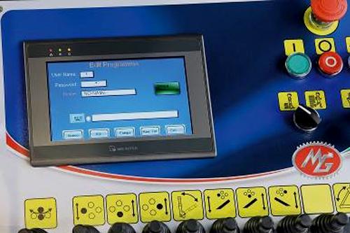 controles NEXUS touch screen