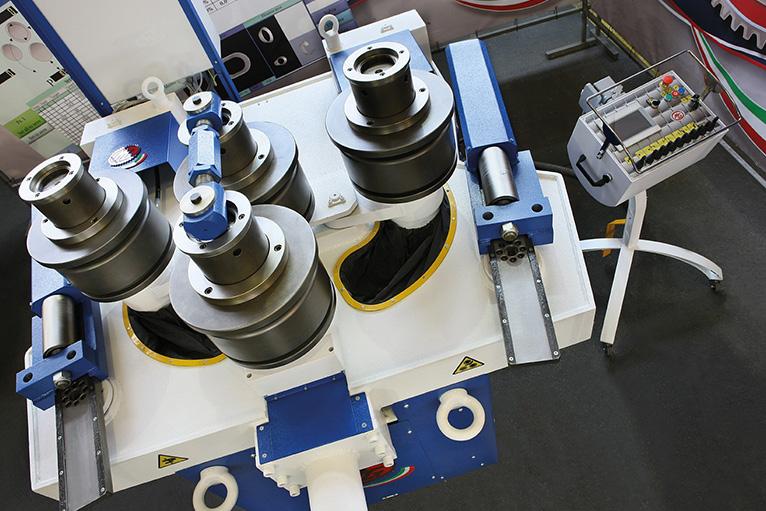 Curvadora de perfiles MG de 4 rodillos
