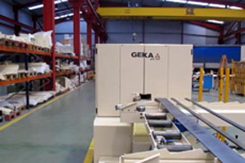 GEKA fabricante de cizallas punzonadoras