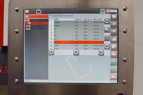 Plegadoras eléctricas Dener Modelo Servo con Husillo