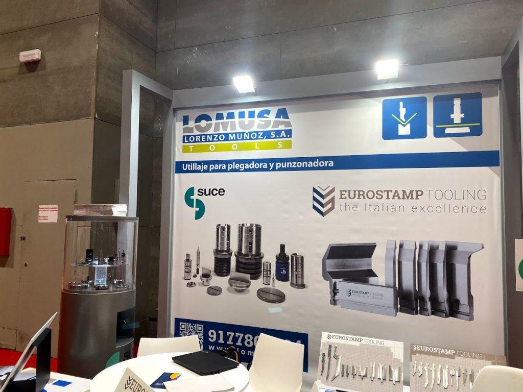 Stand Lomusa en MetalMadrid 2019
