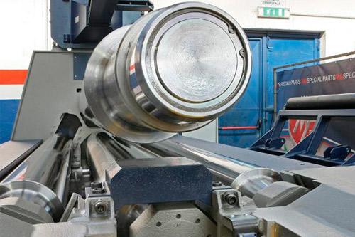 curvadora cilindro Hidraulico K